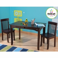 KidKraft Avalon Table and Two Chair Set in Espresso