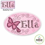 Kidkraft Butterfly Personalized Wall Plaque