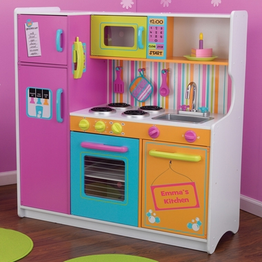 Charmant KidKraft Deluxe Big U0026 Bright Play Kitchen