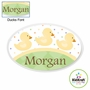 Kidkraft Duck Personalized Wall Plaque