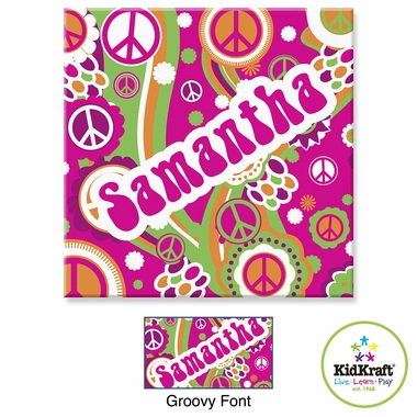 "Kidkraft Groovy 15""x15"" Canvas Wall Art"