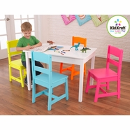Kidkraft Highlighter 5 Piece Table and Chair Set