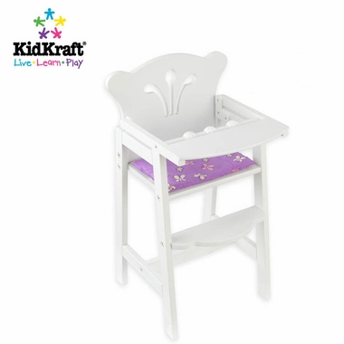 KidKraft Lilu0027 Doll High Chair In White   Click To Enlarge