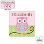 Kidkraft Owls Girl Canvas 15x15 Wall Art
