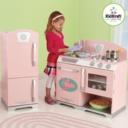 KidKraft Retro Kitchen in Pink