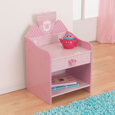 Kidkraft Princess Castle Toddler Table With Drawer Free