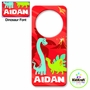 Kidkraft Red Dinosaur Personalized Door Hanger