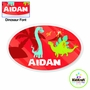 Kidkraft Red Dinosaur Personalized Wall Plaque