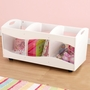 KidKraft See Thru Bins in White