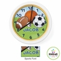 Kidkraft Sports Personalized Clock