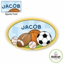 Kidkraft Sports Personalized Wall Plaque