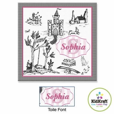 "Kidkraft Toile Canvas 15""x15"" Wall Art"