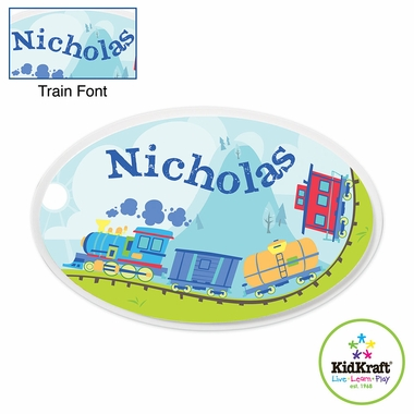 Kidkraft Train Personalized Wall Plaque