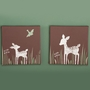 KidsLine Willow 2 Piece Canvas Wall Art