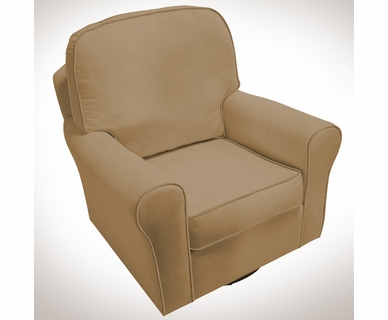 Komfy Kings Serenity Glider in Coffee Velvet