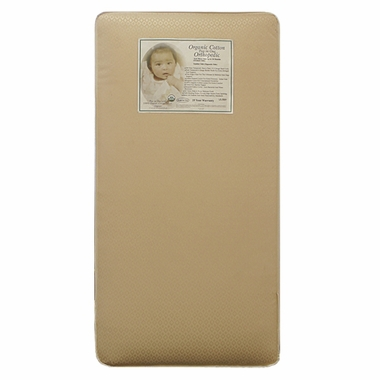 LA Baby Two in One Organic Cotton Orthopedic Mattress