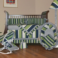 Lacrosse Crib Bedding Collection by Hoohobbers