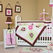 Lady Bug Lucy Crib Bedding Collection