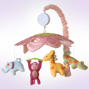 Lambs & Ivy Lollipop Jungle Musical Mobile
