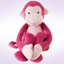 Lambs & Ivy Lollipop Jungle Pink Monkey Plush