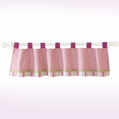 Lambs & Ivy Lollipop Jungle Window Valance