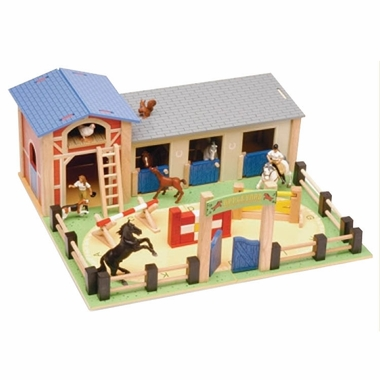 Le Toy Van Appleyard Riding School Play Environment by Hotaling