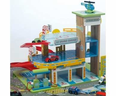 Le Toy Van Le Grand Garage by Hotaling