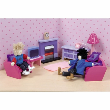 Le Toy Van Sugar Plum Sitting Room Dollhouse Furniture Set By Hotaling