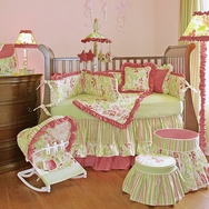 Leaves Crib Bedding Collection by Hoohobbers