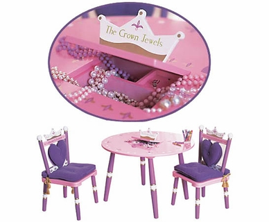 Levels Of Discovery Princess Table & 2 Chair Set