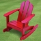 Little Colorado Child's Adirondack Rocking Chair - Colored Wood