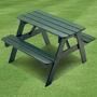 Little Colorado Child's Picnic Table - Colored Wood