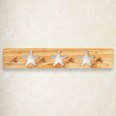 Little Colorado Peg Rack - Natural Lacquer