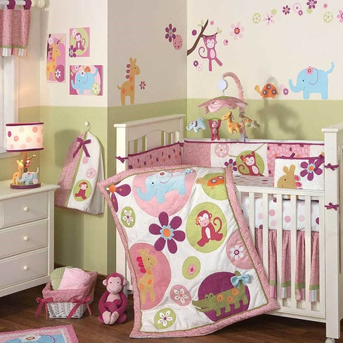 Lollipop Jungle Bedding Collection