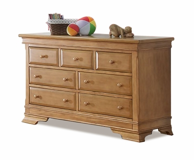 Lusso Manchester Double Dresser in Vintage Frost