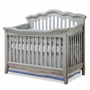 Lusso Ravenna Crib in Vintage Gray