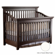 Lusso Seville Crib in French White