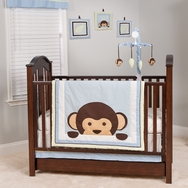 Maddox Monkey Bedding Collection by Pam Grace Creations