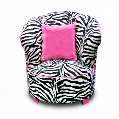 Incredible Magical Harmony Kids Tulip Chair In Zebra Pabps2019 Chair Design Images Pabps2019Com