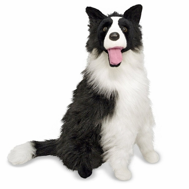 Melissa & Doug Border Collie Plush Dog