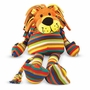 Melissa & Doug Elvis Lion Soft Stuffed Animal with Fun Stripes