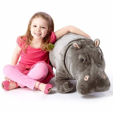 Melissa & Doug Hippopotamus Plush Stuffed Animal