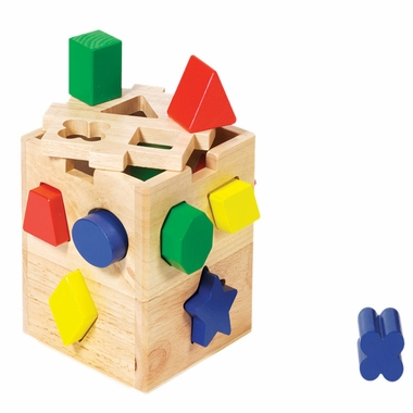 Melissa & Doug Shape Sorting Cube Toy