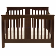 Million Dollar Baby Annabelle 4-in-1 Convertible Crib in Espresso
