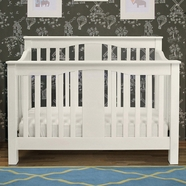 Million Dollar Baby Annabelle 4-in-1 Convertible Crib in White