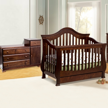 Million Dollar Baby Classic 2 Piece Nursery Set Ashbury