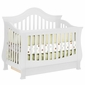 Million Dollar Baby Classic Ashbury 4-in-1 Sleigh Convertible Crib in White
