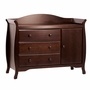 Million Dollar Baby Classic Ashbury Combo Dresser in Espresso