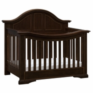 Million Dollar Baby Classic Tisdale Crib in Rich Walnut