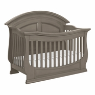 Million Dollar Baby Classic Wakefield Crib in Washed Grey